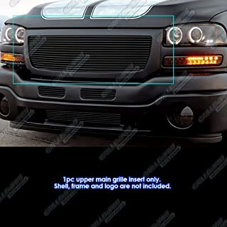 APS G85371H Black Powder Coated Grille Replacement for select GMC Sierra 1500 Models
