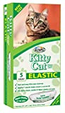 Alfapet Kitty Cat Pan Litter Box Disposable, Elastic Liners-5-Pack-For Extra-Giant, jumbo, super-jumbo Size litter Pans- With Sta-Put Technology for Firm, Easy Fit- Quick + Clever Waste Cleaners