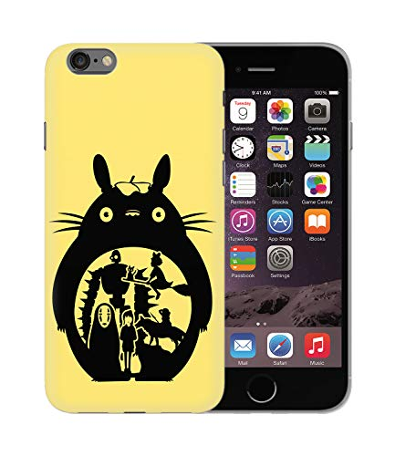 Studio Ghibli Hayao Miyazaki Totoro Characters_BEN2975 Protective Phone Mobile Smartphone Case Custodia Cover Hard Plastic for iPhone 6 6S Funny Regalo Christmas