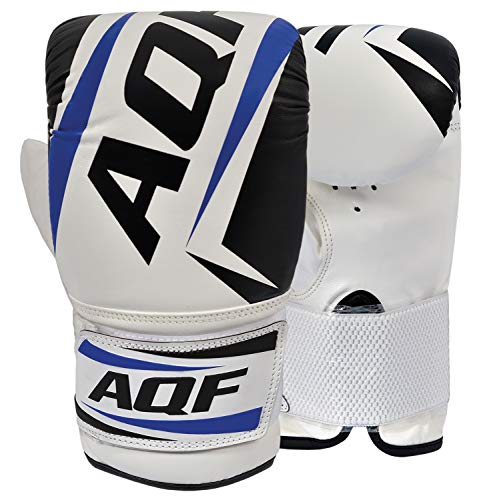 AQF Boxing Bag Mitts Handschoenen Zware Punch Speed Bag MMA Ponsen Mitts Kickboxing Sparring Muay Thai Martial Arts
