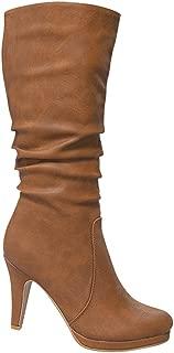 Best mid heel calf length boots Reviews