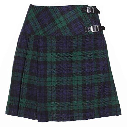 The Scotland Kilt Company Nuevo de Mujer Reloj Negro de Cuadros Escoceses...