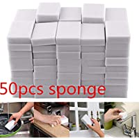 50-Piece Boluoyi Magic Sponge Eraser Melamine Multi-functional Foam Cleaner