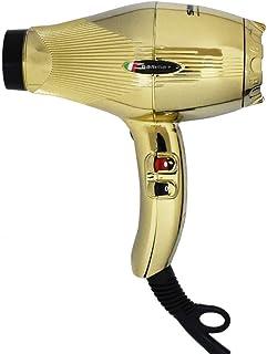 GAMMAPIU' Secador profesional Sintech Gold Edition, Phone para el cabello con nanoSilver Technology, secador de pelo ligero y silencioso, rejilla revestida de plata, W2000-2300