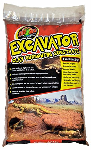 Pet Supply Zoomed Excavator Clay Burrow Substrate 10 lb.