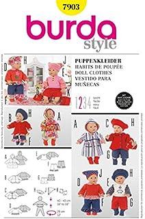 Burda Schnittmuster 7903 – Puppe Kleidung & Accessoires