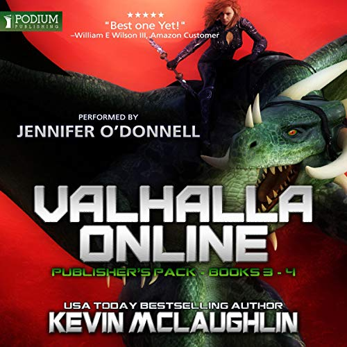 Valhalla Online     Publisher's Pack 2              By:                                                                                                                                 Kevin O. McLaughlin                               Narrated by:                                                                                                                                 Jennifer O'Donnell                      Length: 11 hrs and 54 mins     10 ratings     Overall 4.4