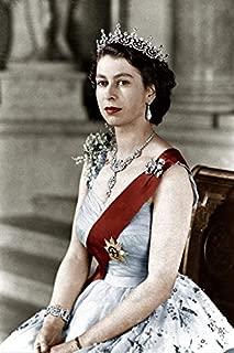 686912919793 Queen Elizabeth II Portrait 13x19 Photo Print