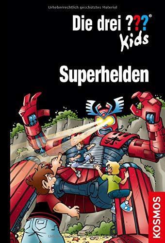 Die drei ??? Kids, Superhelden: Doppelband + Kurzkrimi