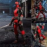 VENDISART Deadpool X-Men Super Hero Mezco One: 12 Figuras de acción Toy Doll Gift
