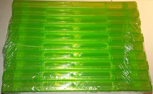 10 Official Microsoft XBox 360 Green Replacement Game Cases OEM