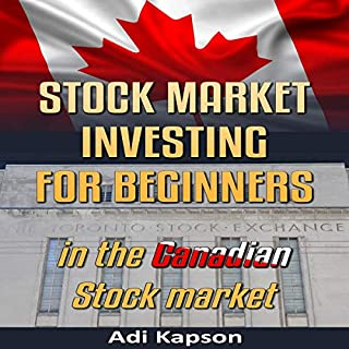 Stock Market Investing for Beginners in the Canadian Stock Market cover art