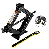 2T Car Scissor Jack with Hand Crank Portable RV Stabilizers for Sedan and Coupe by Everfarel
