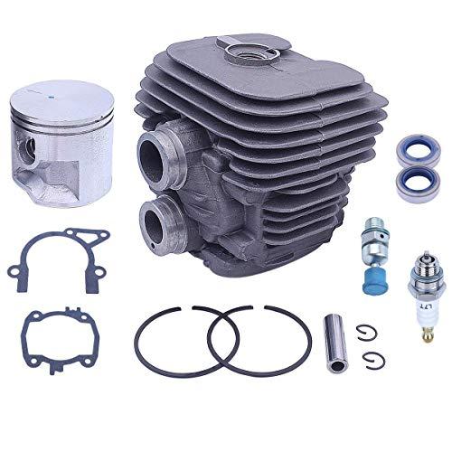 Hippotech Kit de joint de piston de cylindre de 50 mm pour scie à tronçonner Stihl TS410 TS420 TS 410 420 remplace la pièce OEM 4238 020 1202