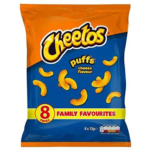 Cheetos Cheese Puffs Snacks 13g x 8 per pack