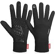 coskefy Touchscreen Handschuhe Sport Elastisch Leicht Atmungsaktiv Outdoor Gloves Damen Herren rutschfest Winddicht Winter Frühling Herbst Motorrad Fahrrad Camping Wandern Bergsteigen