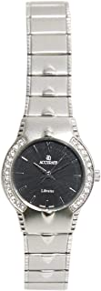 Casual Watch for Women by Accurate, Silver, Inlay, ALQ1449