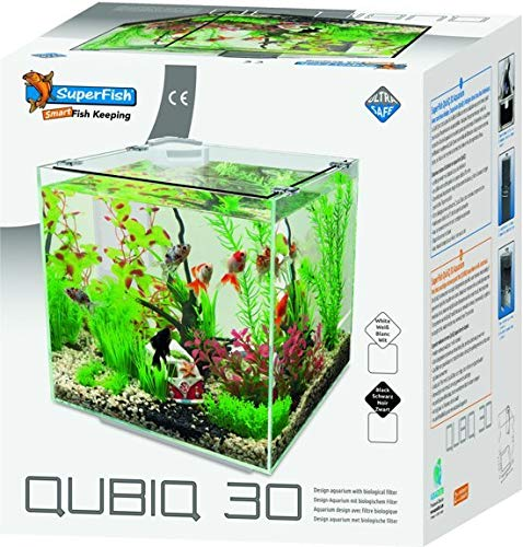 Superfish Aquarium Qubic 30 - Aquaria - 30 l zwart