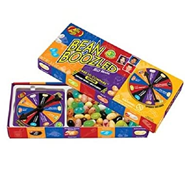 Jelly Belly BeanBoozled Spinner Game and 4 Refill Boxes 1.6 Ounces each - (Pack of 5)