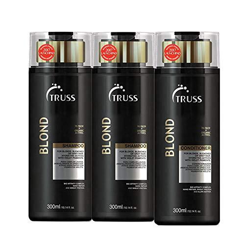 Truss Blond 2 Shampoos 300ml + 1 Condicionador 300ml