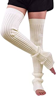 Mujer Calientapiernas Formación Danza Pilates Ballet Yoga Calcetines Largos Legging TTW0056