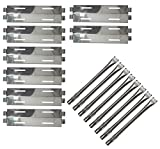Gloryshine Stainless Steel Grill Burners & Heat Plates, Replacement for Bakers...
