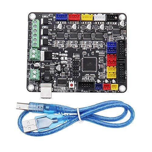 WEI-LUONG V1.4 MKS-Bass-Base 3D Stampante Scheda di Controllo della Scheda Madre Rampe compatibili1.4 tavola