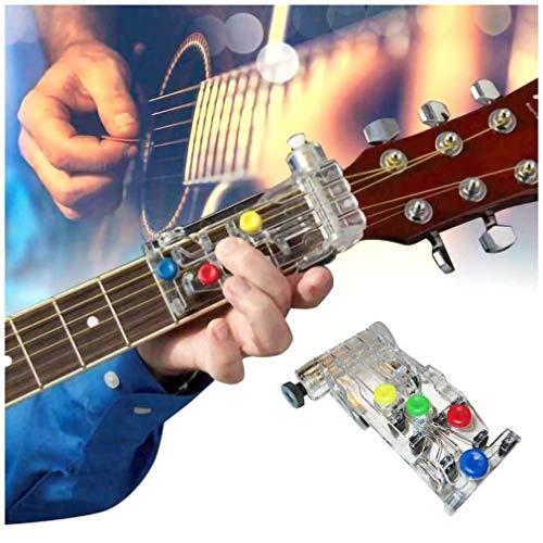 Zooarts Luckysoul - ChordBuddy Guitar Learning System, Gitarrenwerkzeug Gitarren Trainer, tragbares Übungswerkzeug - CLASSICAL CHORD BUDDY Guitar Learning System Teaching Aid CHORDBUDDY UNIT ONLY