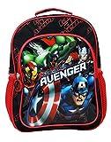 Zaino per bambini The Avengers Zaino per asilo nido Zainetto per bambini di 30 cm Supereroi, colore nero