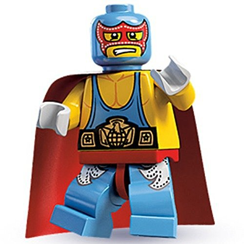 LEGO 8683 Minifigures Series 1 - Super Wrestler by LEGO