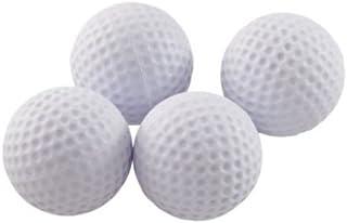 ProActive Sports Short Flight Foam Practice Balls (4 Count)