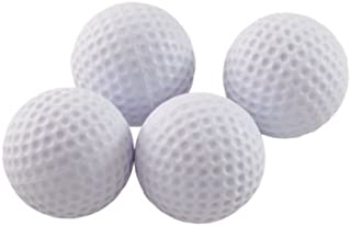 ProActive Sports Short Flight Foam Practice Balls (4 Count)