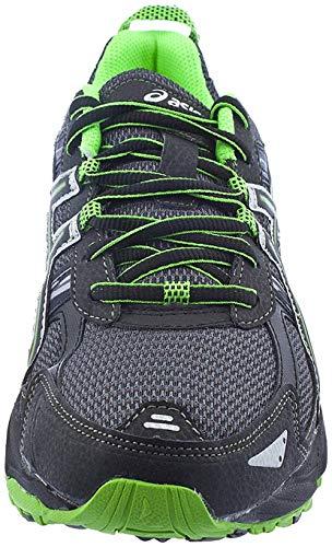 ASICS Men's Gel Venture 5 Trail Running Shoe, (10.5 D(M) US, Castle Rock/Black/Green) Mississippi