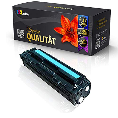 alternativa cartucho de tóner para HP Color LaserJet CP1215Color LaserJet CP1216Color LaserJet CP1217CB 541A CB541cian