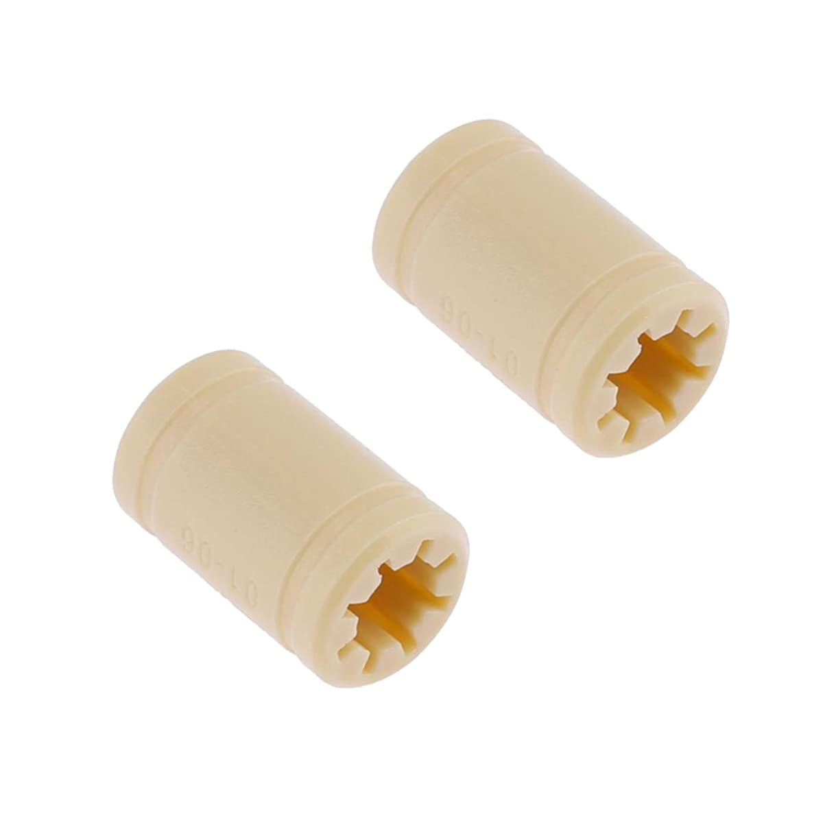 おとなしいマッシュ無声で3Dプリンタ リニア ベアリング ポリマー シャフト 固体 プラスチック キット RJMP-01 全3サイズ 2本入り 交換性 便利性 - 6mm