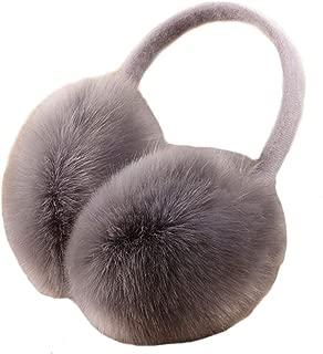 Pusheng Womens/Girls Cute Warm Faux Furry Earmuffs Winter Outdoor Adjustable EarMuffs