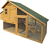 Pets Imperial Sandringham Extra Large Chicken Coop (223cm/7ft 3ins) Suitable for Up to 8 Birds Depending On Size