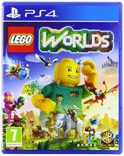 Warner Bros LEGO Worlds, PS4 Básico PlayStation 4 vídeo - Juego (PS4, PlayStation 4, Acción / Aventura, Modo multijugador, E10 + (Everyone 10 +))