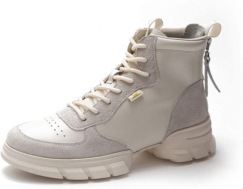 ZSXWIN Women Winter Snow Flat Ankle Boots Outdoor Warm Bootie