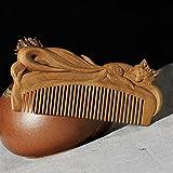 Retro Estilo Chino Tallado a Mano Peine de Pelo para el Peinado para el Cabello Cepillo de Pelo Cepillo de Peinado Herramientas de Cuidado del Cabello para Viajes Chenhuanbakeyji (Color : As Show)