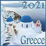 2021: Greece : 2021 Wall & Office Calendar, 12 Month Calendar