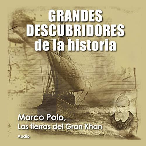 Diseño de la portada del título Marco Polo, Las tierras del Gran Khan