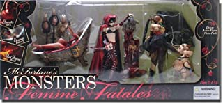 McFarlane's Monsters Previews Exclusive Femmes Fatales Action Figures 3-Pack