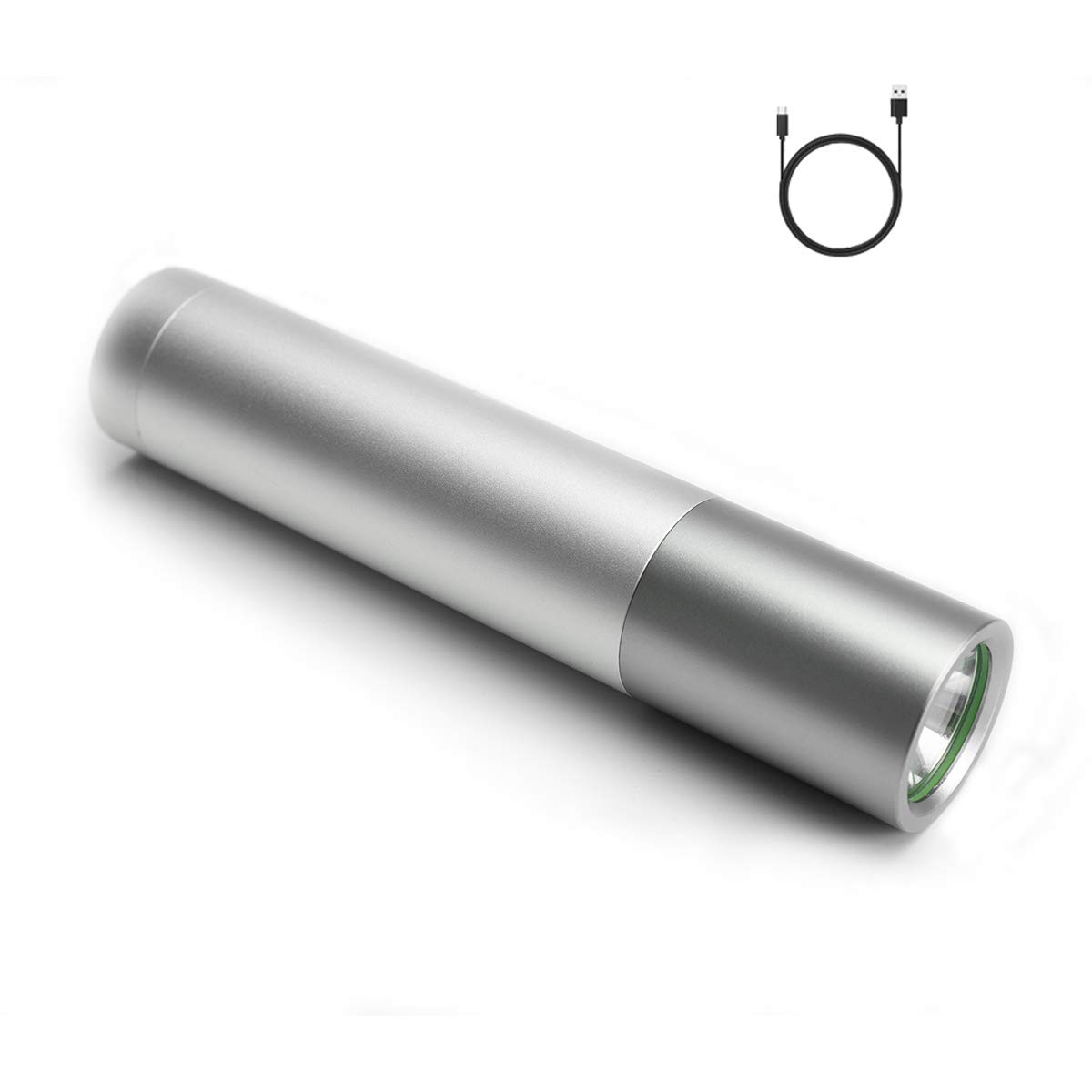 18650 2 PACK Zoom 90000 Lumens 5 Modes 10W T6 LED Flashlight Torch Charger