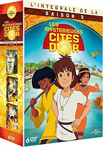 Les Mystérieuses Cités d'Or - L'Intégrale saison 3 [Francia] [DVD]