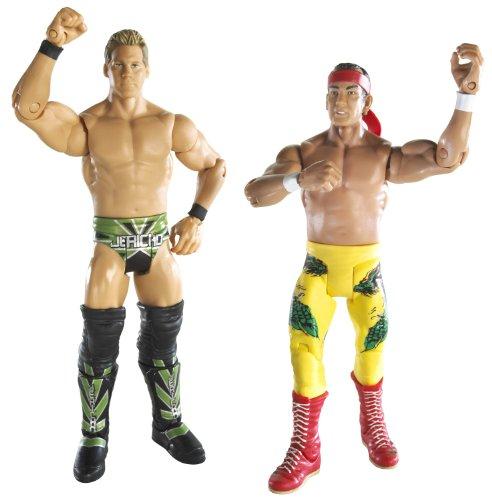 WWE Ultimate Rivals Lot de 2 Bateaux à Vapeur Ricky The Dragon Contre Chris Jericho Série # 5