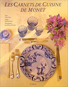 Hardcover Les Carnets de Cuisine de Monet (French Edition) [French] Book