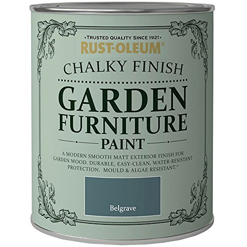 Rust-Oleum Chalky Finish Garden Furniture Paint 750ml - All Colours...