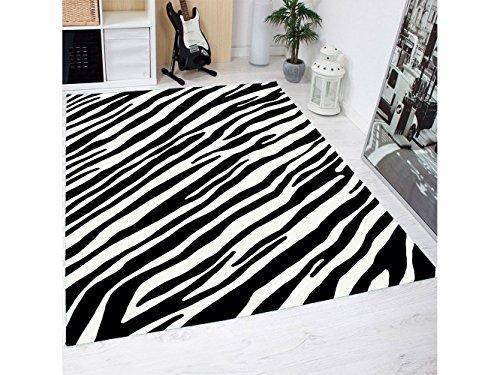 Oedim Alfombra Estampado Piel Cebras PVC   95 cm x 133 cm  Moqueta PVC   Suelo vinilico   Decoración del Hogar