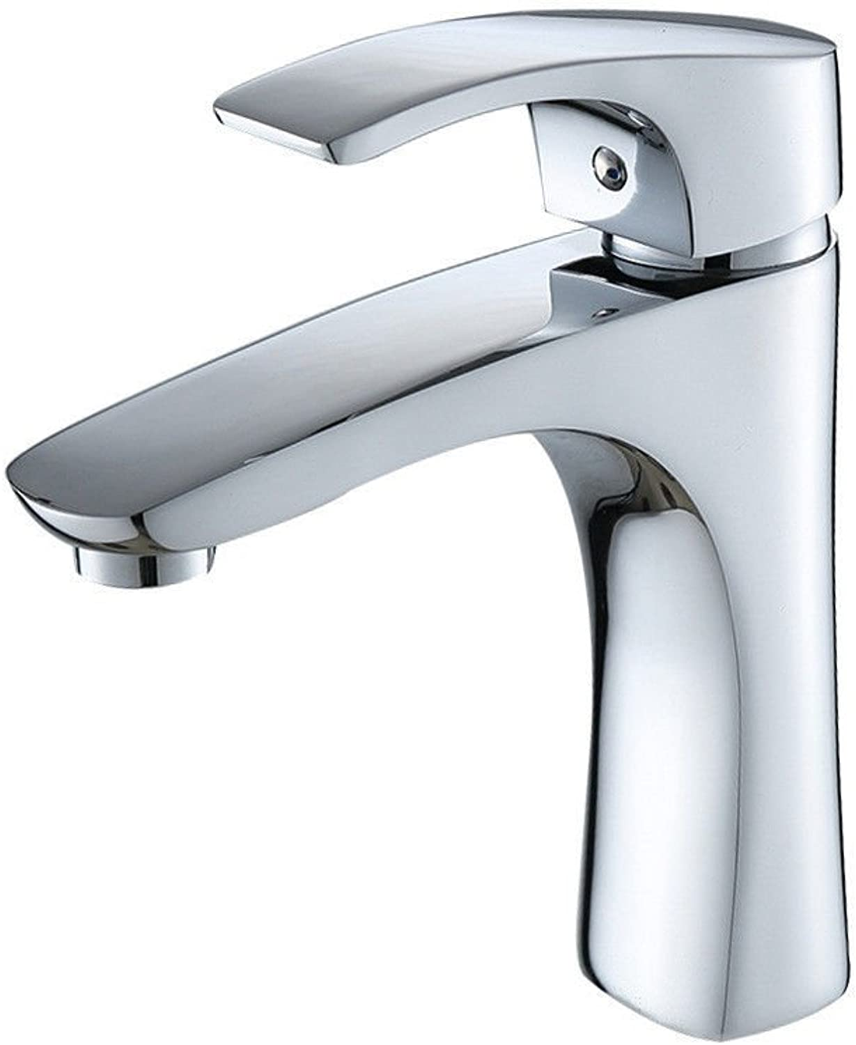 ETERNAL QUALITY Bathroom Sink Basin Tap Brass Mixer Tap Washroom Mixer Faucet The Brass chrome sink hot and cold basin sinks Bathroom Cabinet Faucet Kitchen Sink Taps